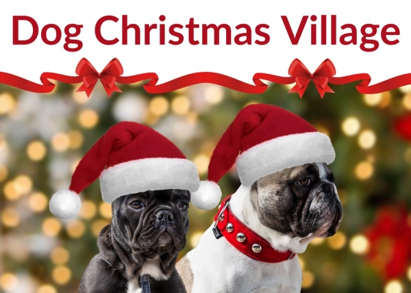 16 dicembre 2018 - Dog Christmas Village